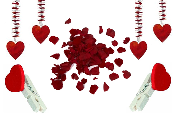 Decoracion san valentin picture to pin on pinterest for Decoracion para san valentin