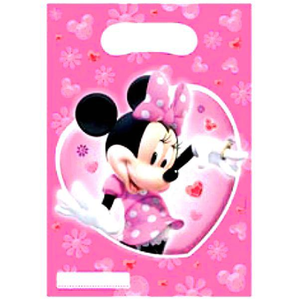 Pack 6 Bolsitas Minnie Mouse