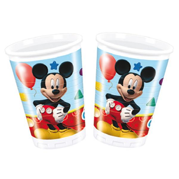 Pack 8 Vasos Mickey Club House