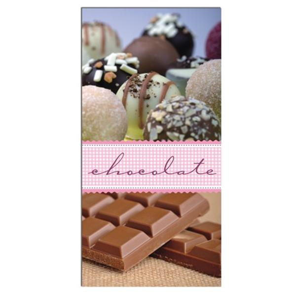 Pack 12 Servilletas tableta de Chocolate