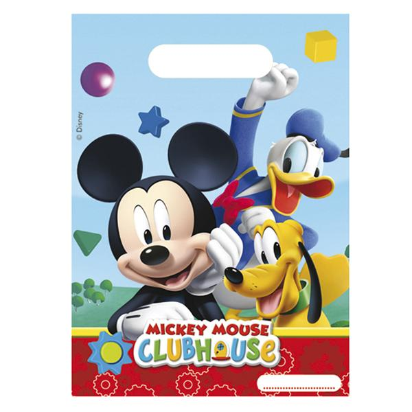 Pack 6 Bolsitas Mickey Mouse