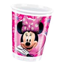 Pack 8 Vasos Minnie Mouse