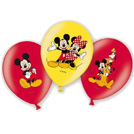 Pack 6 Globos Mickey