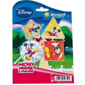 Mini Golf Mickey Mouse (Pack de 4)