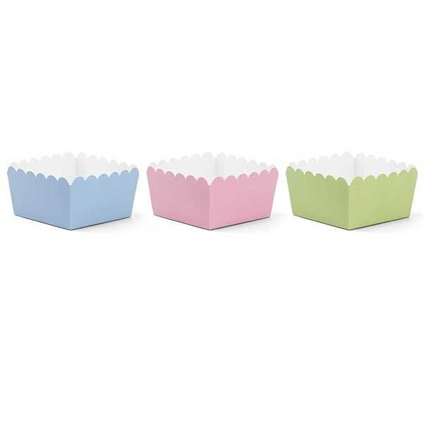 Mini Cubitos Colores Pastel (Pack de 6)