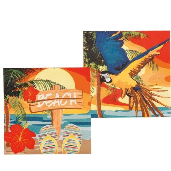 Servilletas Beach Hawaii (Pack de 12)