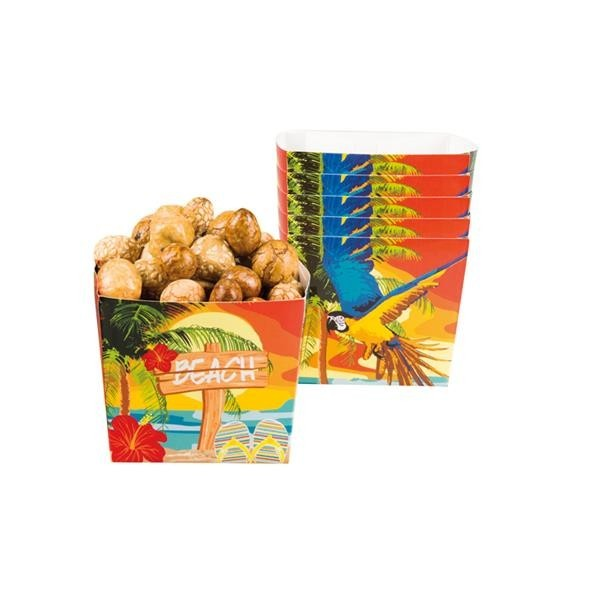 Cubitos Beach Hawaii (Pack de 6)