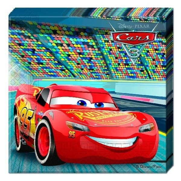 Servilletas Cars 3 (Pack de 20)