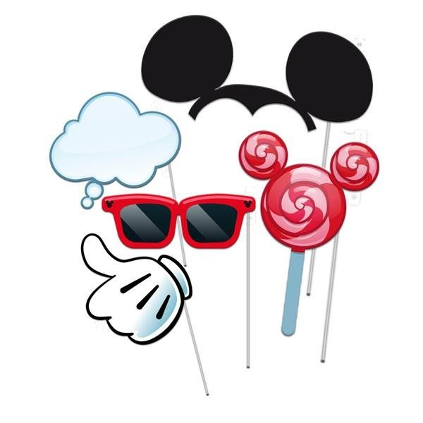 Photocall Mickey Mouse (Pack de 5)
