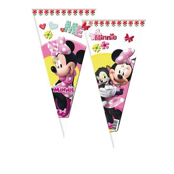 Bolsas Cono Minnie Mouse (Pack de 6)