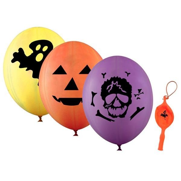 Globo Gigante Halloween Punch Ball (Pack de 4)
