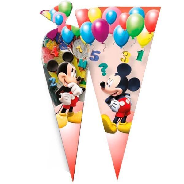 Bolsas Cono Mickey Mouse (Pack de 6)