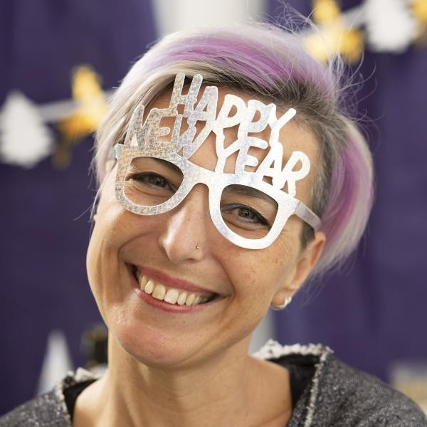 Gafas Holográficas Happy New Year (Pack de 6)