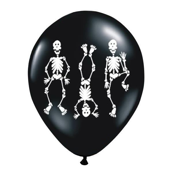 Globos Huesitos (Pack de 6)