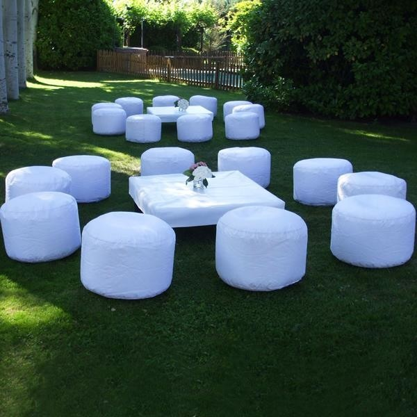 Alquiler Mobiliario Chill Out Puffs