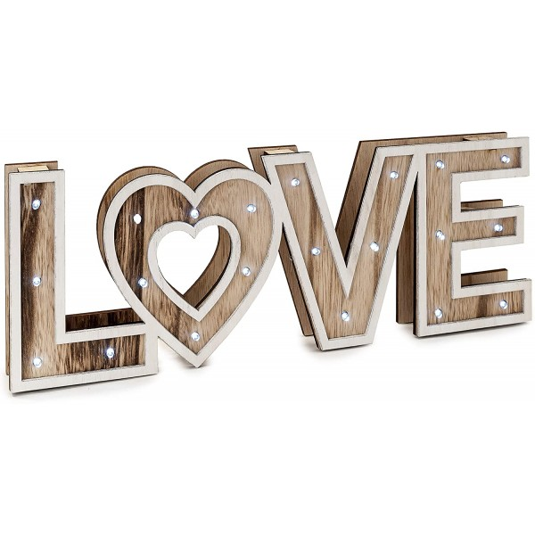 Letras Love Led