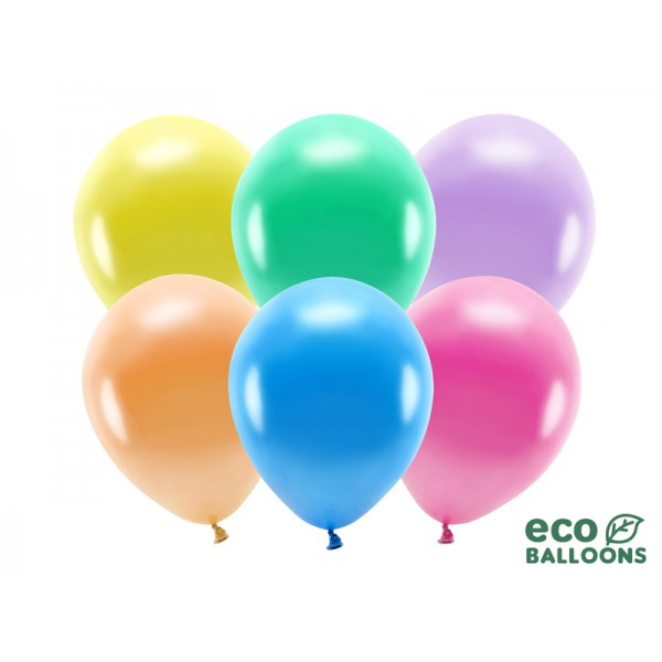 Globos Multicolor ECO (Pack de 100)