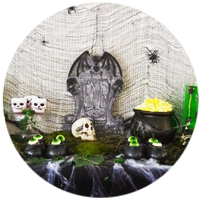 DECORACION MESA HALLOWEEN