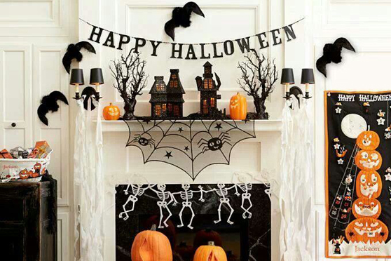 Decoracion halloween barata para tu fiesta for Ideas para decorar una habitacion de halloween