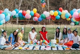 IDEAS PARA BABY SHOWER EN EL JARDIN