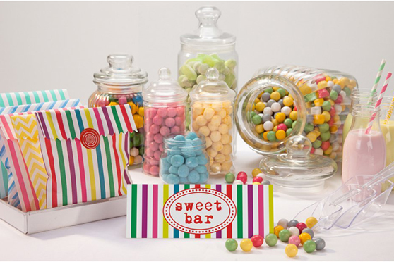 BOLSAS DE CHUCHES PARA EL CANDY BAR