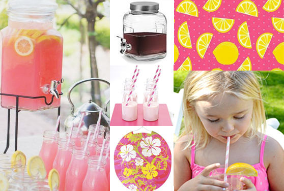 FIESTAS DE VERANO: UNA PINK LEMONADE PARTY!