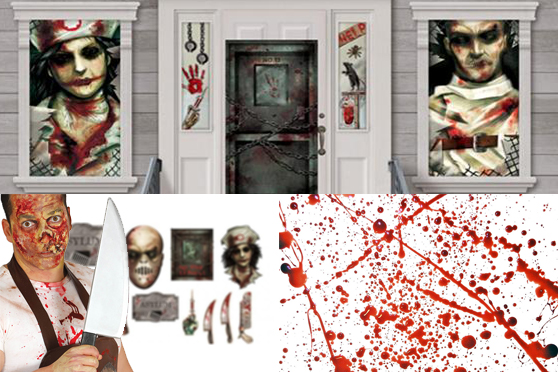 IDEAS PARA HALLOWEEN: HOSPITAL PSIQUIATRICO