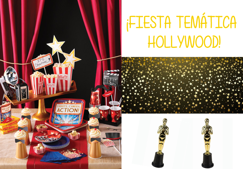 FIESTA TEMATICA HOLLYWOOD