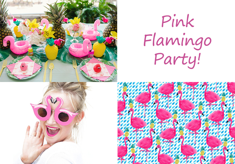 UNA PINK FLAMINGO PARTY!!!
