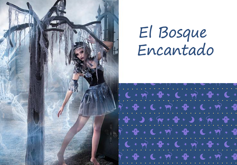 IDEAS PARA HALLOWEEN: EL BOSQUE ENCANTADO