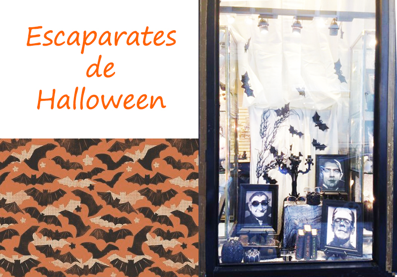 ESCAPARATES DE HALLOWEEN