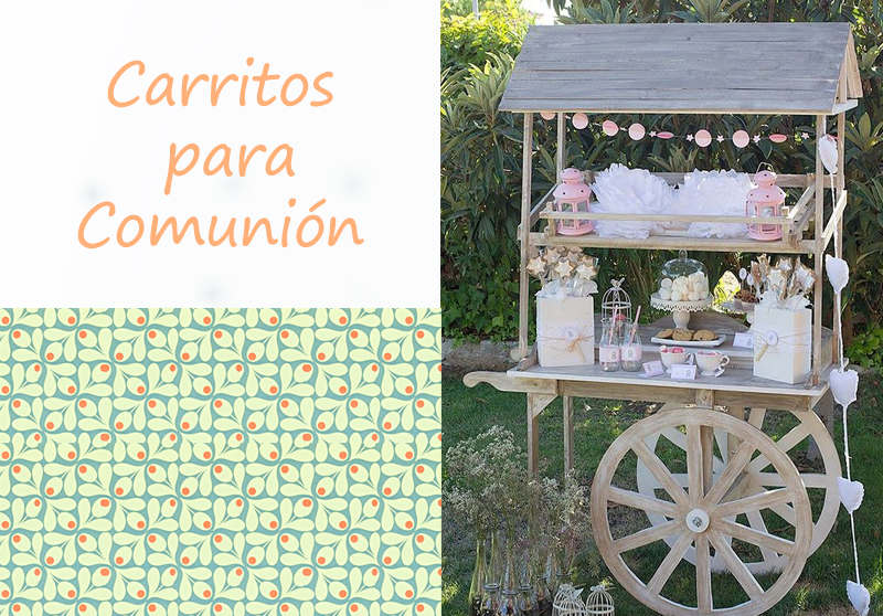 Carritos de chuches para comunion for Carrito de chuches