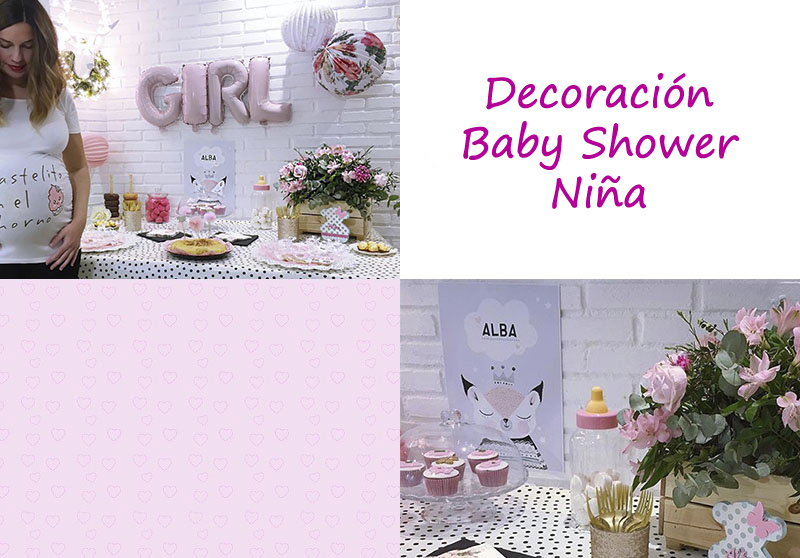 Ideas Para Baby Shower Niña