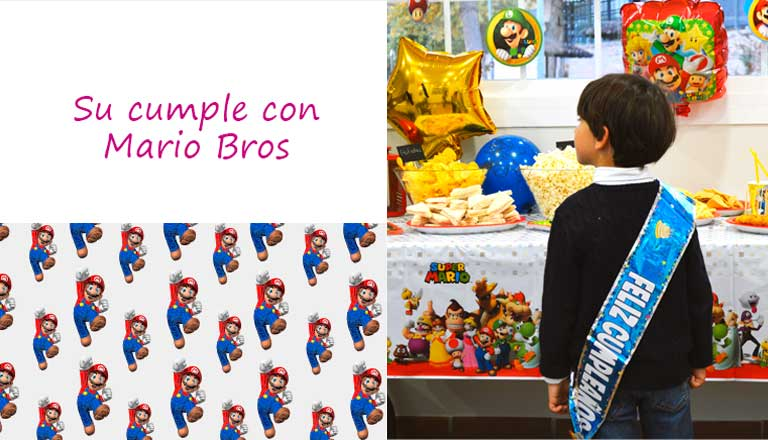 COMPRAR DECORACION MARIO BROS