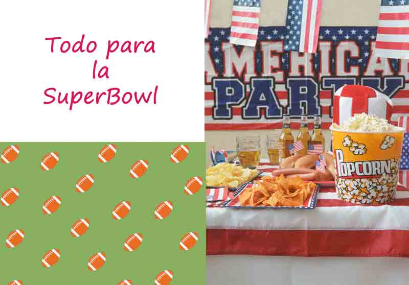 DECORACIONES FACILES PARA FIESTA SUPERBOWL