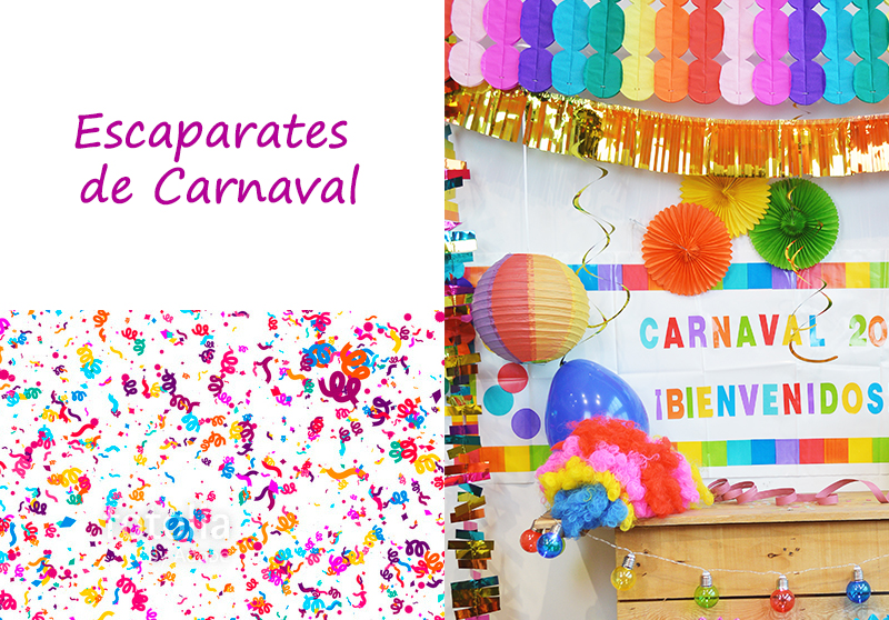 PRODUCTOS DE CARNAVAL PARA ESCAPARATES