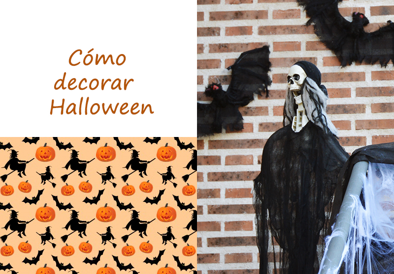COMO DECORAR EN HALLOWEEN