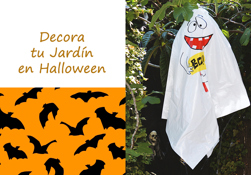 IDEAS PARA DECORAR TU JARDÍN EN HALLOWEEN