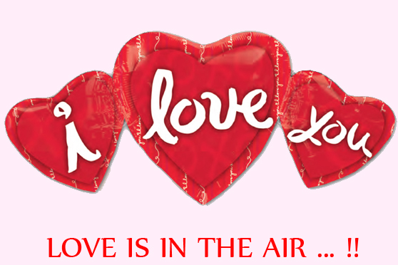 San Valentin: ¡Love is in the air!