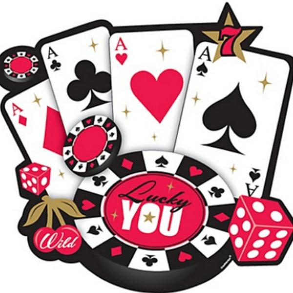 Cartas Casino Cutout
