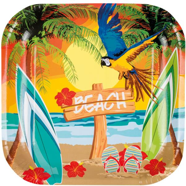 Platos Beach Hawaii (Pack de 6)