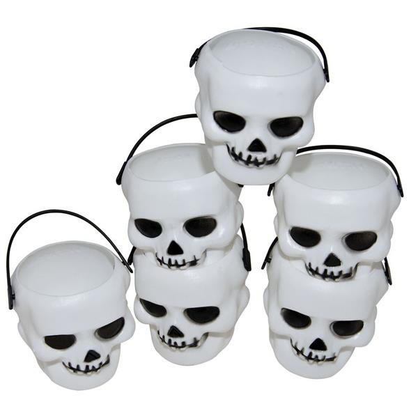 Mini Calaveras Halloween (Pack de 6)