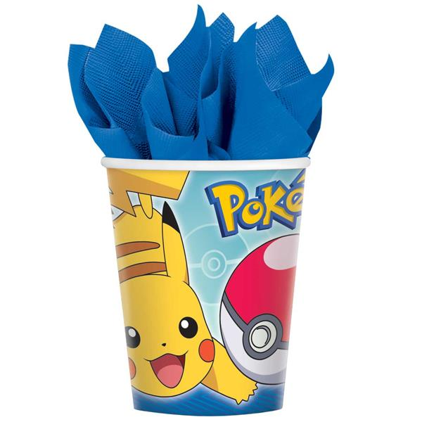 Vasos Pokemon (Pack de 8)