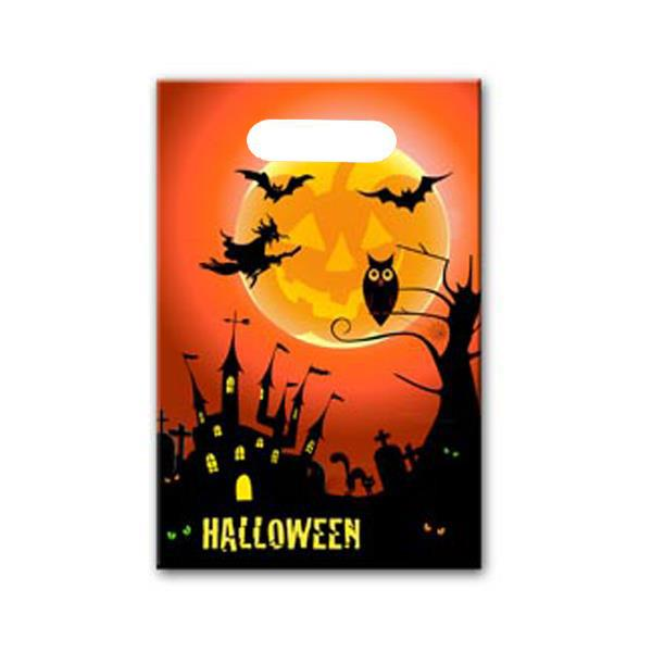 Bolsa Rectangular Halloween (Pack de 10)