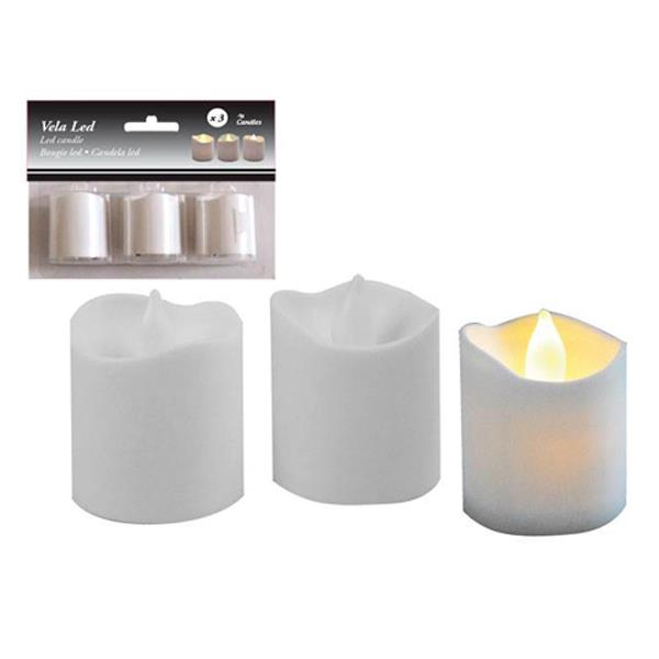 Velas Led (Pack de 3)