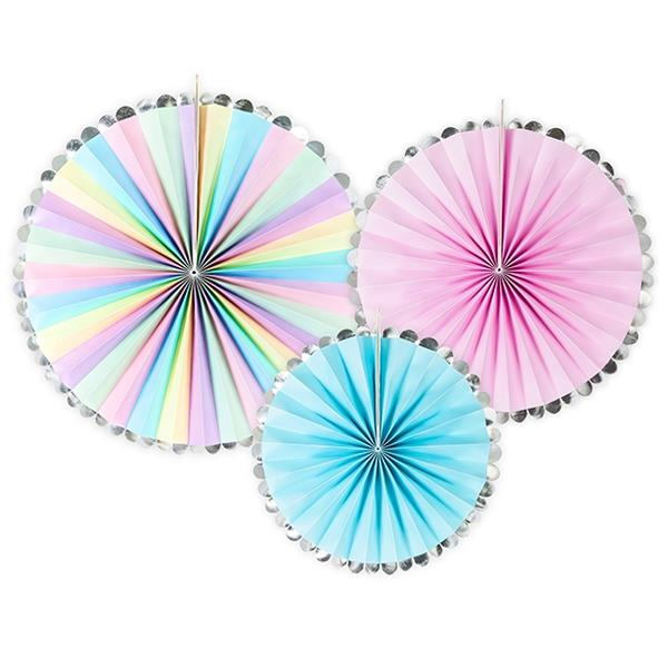Rosetones Dream Colores Pastel (Pack de 3)