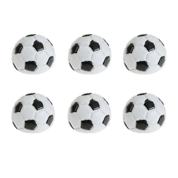 Mini Pelotas Decoración Futbol (Pack de 6)