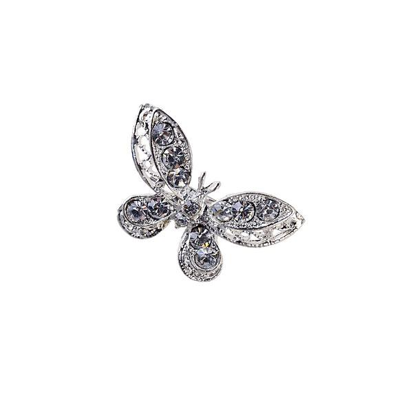 Mini Broche Mariposa Strass