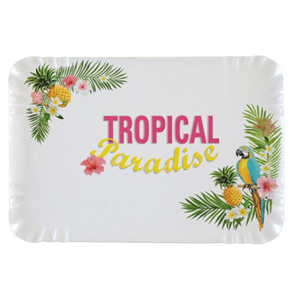 Bandejas Tropical Paradise (Pack de 5)