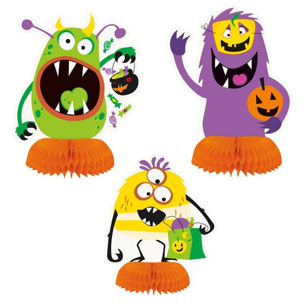 Mini Centros de Mesa Halloween Holy (Pack de 3)
